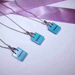 ティファニー  s925 ショッピングバッグネックレス