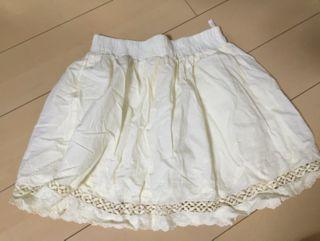 スカート ホワイト