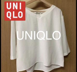 UNIQLO ユニクロ ブラウス