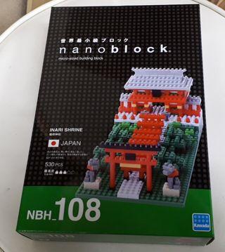 新年ナノブロック稲荷神社!