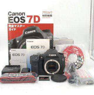 S8959回!!CFカード付属Canon 7D ボディ