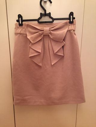 95 allamanda バックリボンスカート