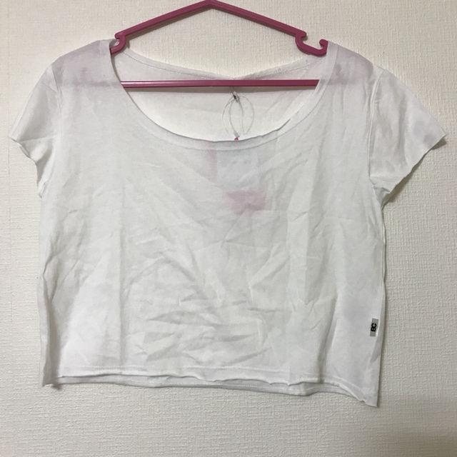 Tシャツ 半袖 トップス 丈短め