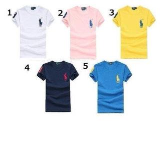POLOポロ ラルフローレン男女通用Tシャツ9色