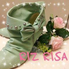 美品RIZ RISA系ショートブーツ