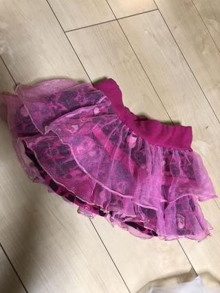 RONIハート柄スカート