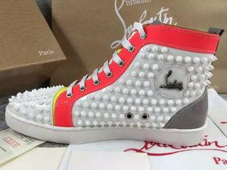 最高品質クリスチャンルブタン靴スニーカー 男女兼用