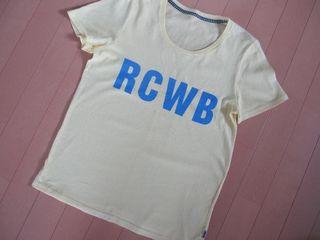RCWB ロゴTシャツ