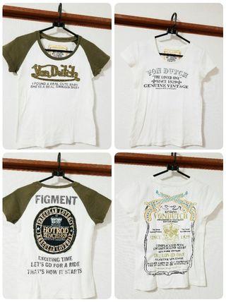 かっこいいバックデザインボンダッチ Tシャツ