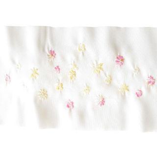 新品送料込 花柄刺繍半衿◆着物姿に HEW021