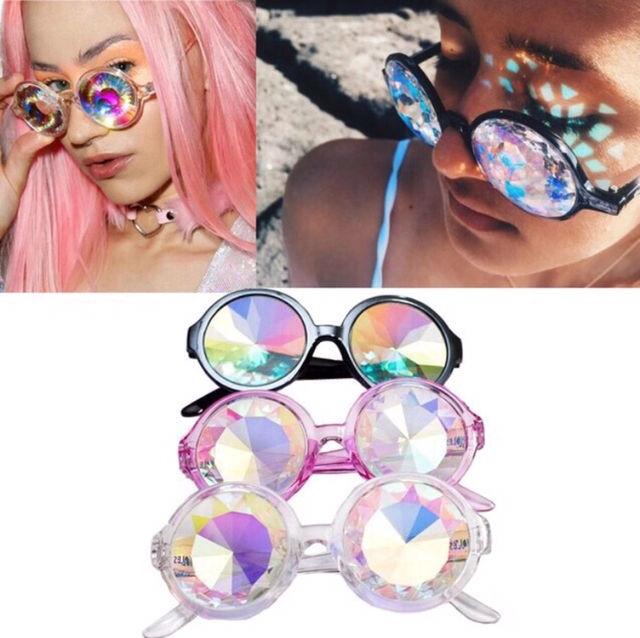海外セレブ愛用万華鏡サングラスファッションメガネ