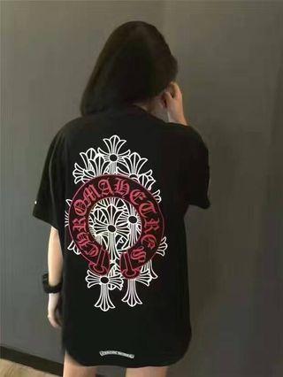 クロムハーツ 男女兼用 半袖tシャツ