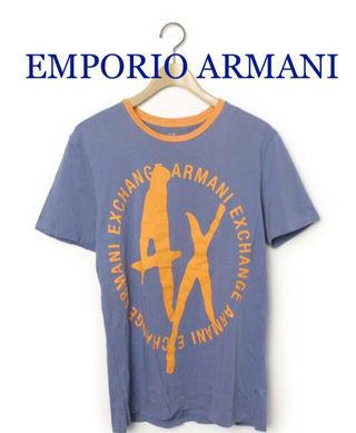 EMPORIO ARMANI【新品同様】ロゴTシャツ