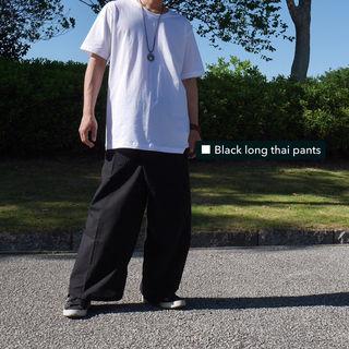 新品未使用 セール中 大人気 ブラック ロング タイパンツ