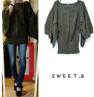 SWEET.B かぎ編み ニット
