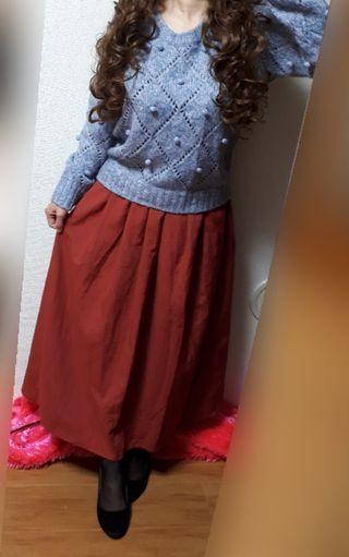 CINEMA CULBロングスカート