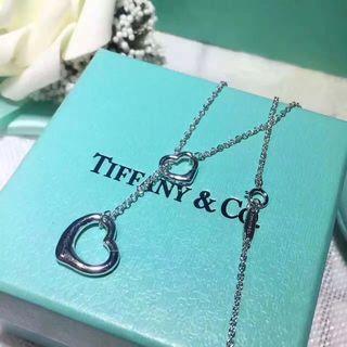Tiffanyティファニーオープンハートネックレス