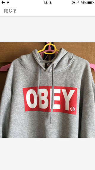 OBEY パーカー