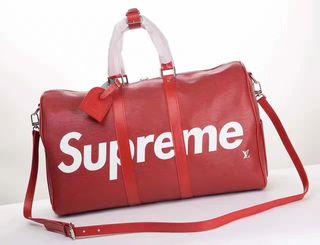 Supreme×LV人気コラボ ファッションの旅行バッグ