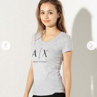 AXアルマーニ エクスチェンジ AXロゴ Tシャツ
