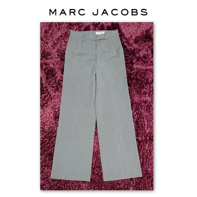 MARC JACOBS LOOK ストライプ ワイドパンツ(MARC JACOBS(マークジェイコブス) ) - フリマアプリ&サイトShoppies[ショッピーズ]