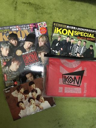 IKON 雑誌&グッズ