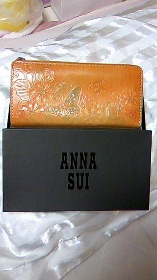 正規品  アナスイ 長財布