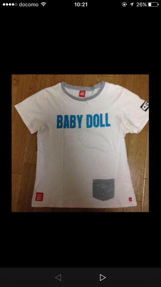 ベビードールのオシャレTシャツ!
