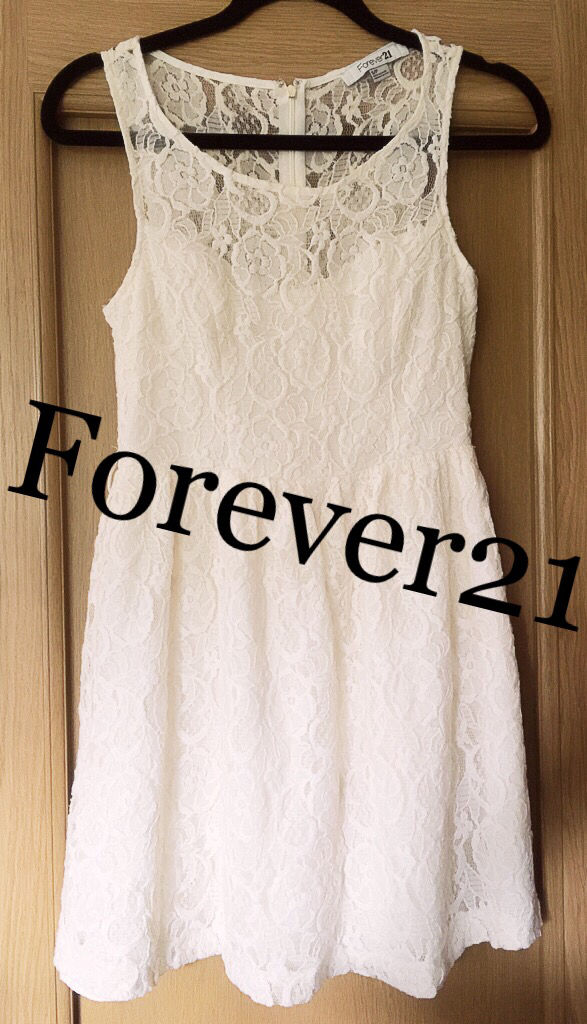 Forever21【美品】総レースフラワーワンピース(FOREVER 21(フォーエバートゥエンティーワン) ) - フリマアプリ&サイトShoppies[ショッピーズ]