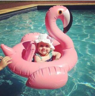 浮き輪 【フラミンゴ】 子供用 ベビー キッズ プール