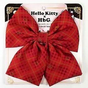 HbG×キティ スクールリボン  レッド