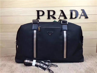 プラダ品番9106メンズ旅行用バッグ
