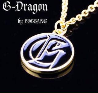 高品質!G-DRAGON GD着用モデルネックレス