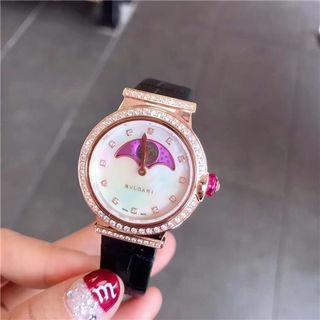 ブルガリ LVCEA クオーツ ウオッチ腕時計