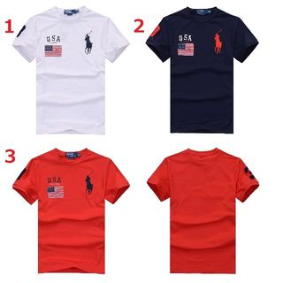 送料無料新品POLOポロ ラルフローレン男性用Tシャツ3色