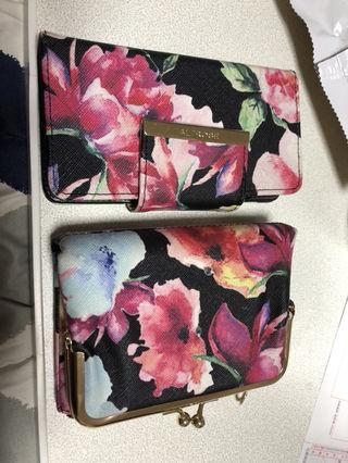 花柄 財布 iPhoneケース