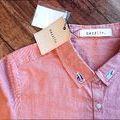 【dazzlin】ショート丈半袖シャツ新品タグ付き