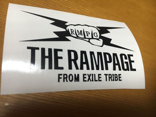 THE RAMPAGE  ステッカー