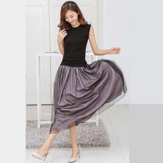 Mサイズ】ワンピース ドレス フォーマル ドレープ フレア