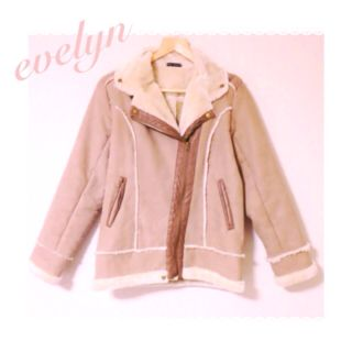 evelyn完売ムートンコート 1番人気カラー