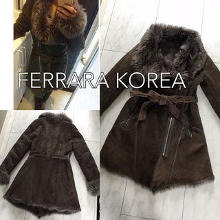 FERRARA KOREA ムートンコート