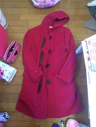 ピンク コート