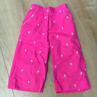 【105~110cm】OSHKOSH 花柄 パンツ ズボン