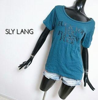 SLY LANG*Tシャツ