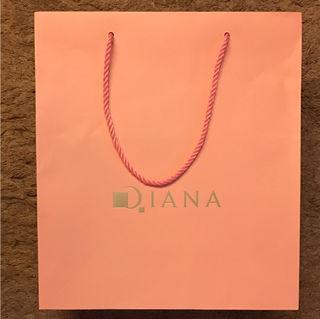DIANA紙袋(ピンク色)