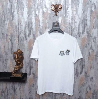 送料無料 D&G新品ビスコースTシャツ