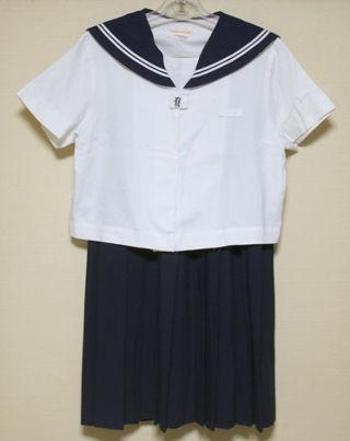 高校制服 セーラー服2着&夏用スカート2枚(クリーニング済