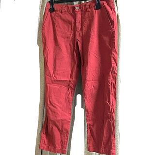 クレドソル 赤 パンツ