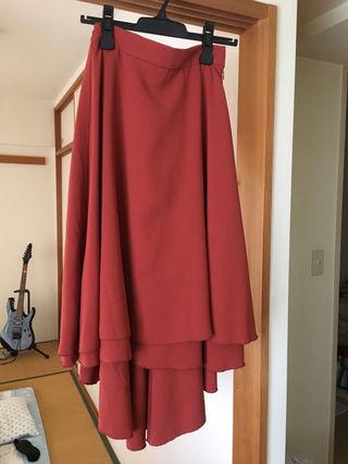 セシルマクビーテールカットスカート