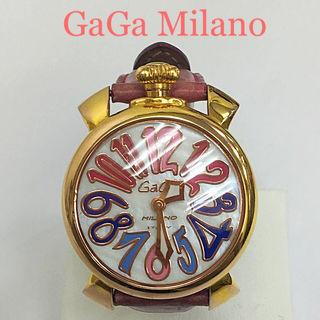 鑑定済み正規品 ガガミラノ40腕時計